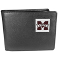 Mississippi St. Bulldogs Leather Bi-fold Wallet